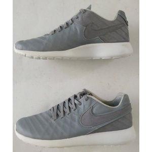 ff5020fdb662 Nike Shoes - Nike Roshe Tiempo VI QS Wolf Grey White Sneakers